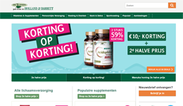 Screenshot Hollandandbarrett.nl