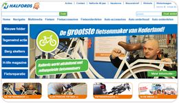 Screenshot Halfords.nl