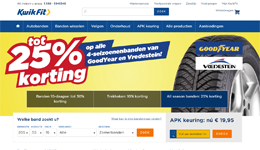 Screenshot Kwik-fit.nl
