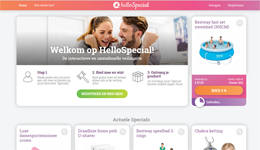 Screenshot HelloSpecial.com