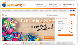 Screenshot KadoWereld.nl