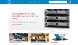 Screenshot Dell.nl